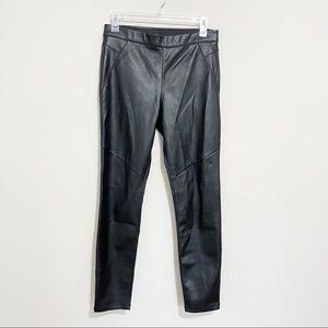 Free People Vegan Leather Pleather Leggings 28